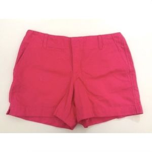 Old Navy Women's Shorts 6 Low Waist Solid Pink New